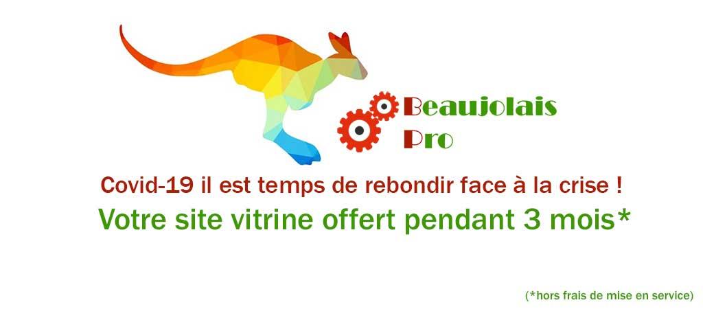 3 mois offerts pour le lancement de Beaujolais Pro
